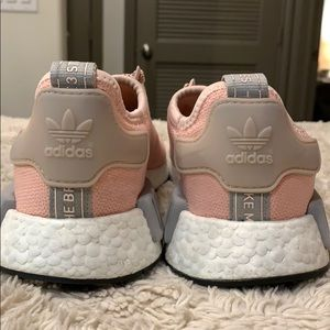 adidas Shoes - Adidas NMDs Women's 8.5 | Pink White Silver